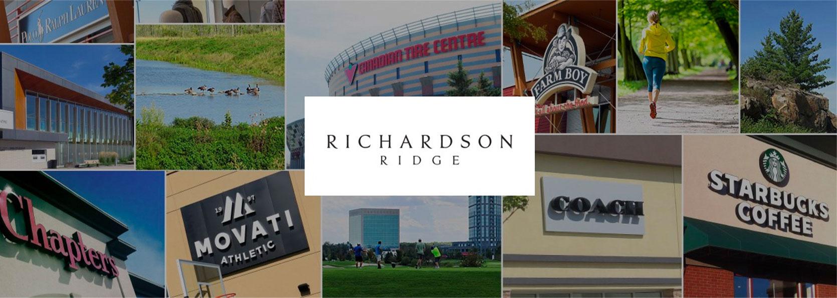 Richardson Ridge amenities collage