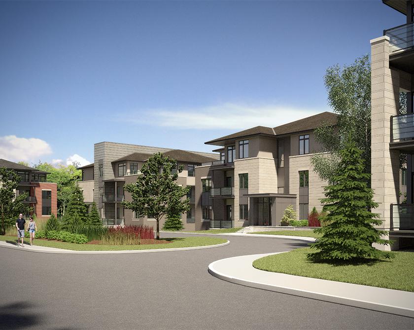 Image of Richardson Ridge rental exterior courtyard