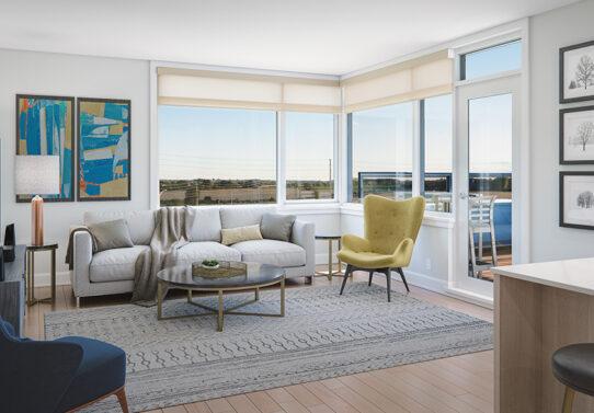 Image of Richardson Ridge rental living room