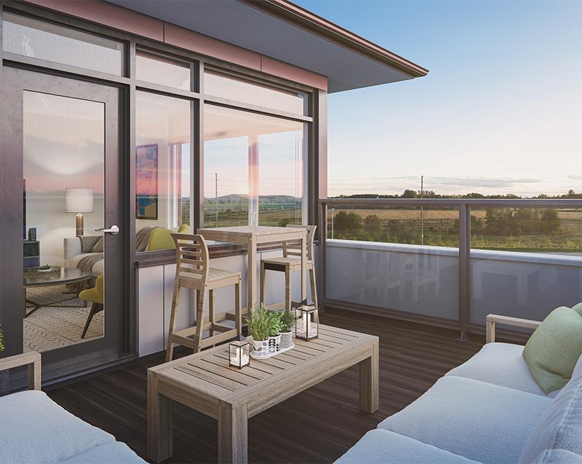 Image of Richardson Ridge rental terrace exterior